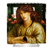 La Donna Della Finestra Shower Curtain