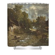 La Ferme Shower Curtain