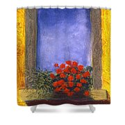 La  Finstra Con  I Fiori Shower Curtain