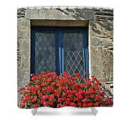 La Gacilly, Morbihan, Brittany, France, Window Shower Curtain