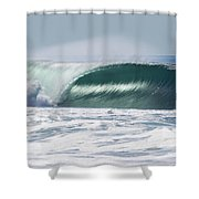 La Jolla California Drainer Shower Curtain