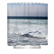 Atlas Ocean /la Jolla Shores Shower Curtain