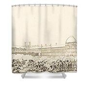 La Journee Du 10 Aout 1792 Shower Curtain