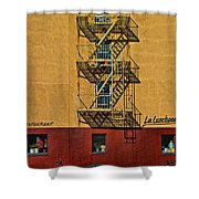 La Lunchonette Shower Curtain