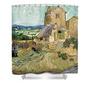 La Maison De La Crau The Old Mill Shower Curtain