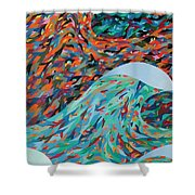 La Mer Shower Curtain