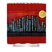 L.a. Moon Shower Curtain