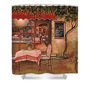 La Palette Shower Curtain by Guido Borelli