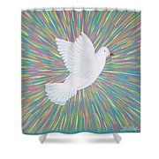 La Palomita Shower Curtain