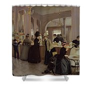 La Patisserie Shower Curtain