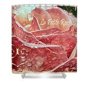 La Petite Rose Shower Curtain