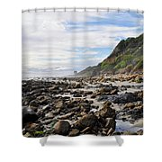 La Piedra Shore Malibu Dusk Shower Curtain
