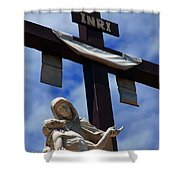 La Pieta Shower Curtain