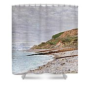 La Pointe De La Heve Shower Curtain