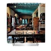 La Posada Historic Hotel Lounge Shower Curtain
