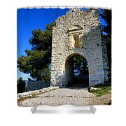 La Poterne In Allauch Shower Curtain