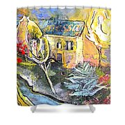 La Provence 11 Shower Curtain