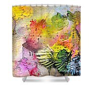 La Provence 12 Shower Curtain