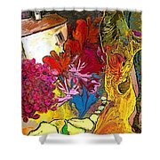 La Provence 15 Shower Curtain