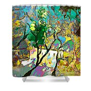 La Provence 16 Shower Curtain