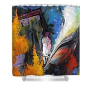 La Provence 23 Shower Curtain