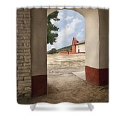 La Purisima Arch Shower Curtain