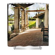 La Purisima Long View Shower Curtain