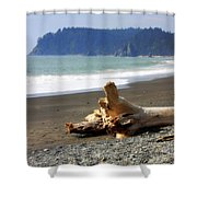 La Push Beach  Shower Curtain
