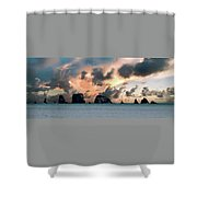 La Push Lineup Shower Curtain