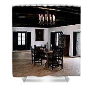 La Rabida Monasterio - Huelva Shower Curtain
