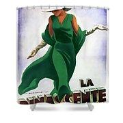 La Rinascente Novita Di Stagioni 1931 Shower Curtain