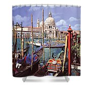 La Salute Shower Curtain