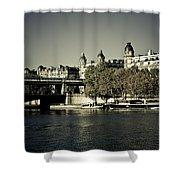 La Seine I Shower Curtain