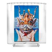 La Sirena Shower Curtain by Michael Earney