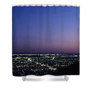 L.a. Sunset Shower Curtain