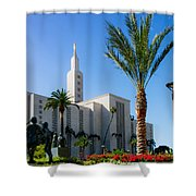 La Temple Children Shower Curtain