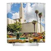 La Temple Gardens Shower Curtain