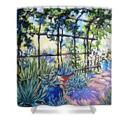La Tonnelle The Arbor Shower Curtain