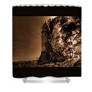 La Tour Darkly Shower Curtain