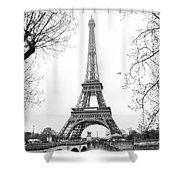 La Tour Eiffel, Paris Shower Curtain