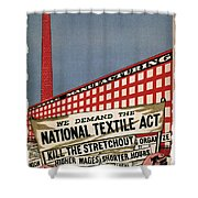 Labor Poster, 1935 Shower Curtain
