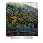 Labrador Pond Hillside Shower Curtain