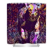 Labrador Puppy Retriever Dog Young  Shower Curtain