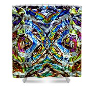 Labyrinth Of The Mind  Shower Curtain