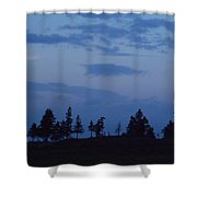 Lac-st-jean Way Shower Curtain