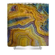 Lace Agate Stone 4 Shower Curtain