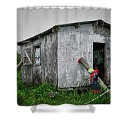 Lace Curtains Shower Curtain