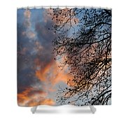 Lace In The Sunset Shower Curtain
