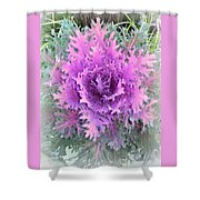 Lacey Plant Shower Curtain
