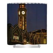 Lackawanna Clock Tower Shower Curtain